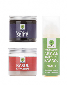Traditionelle Marokkanisch Hammam Set